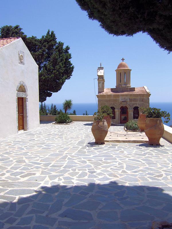 Kloster auf der Insel Kreta