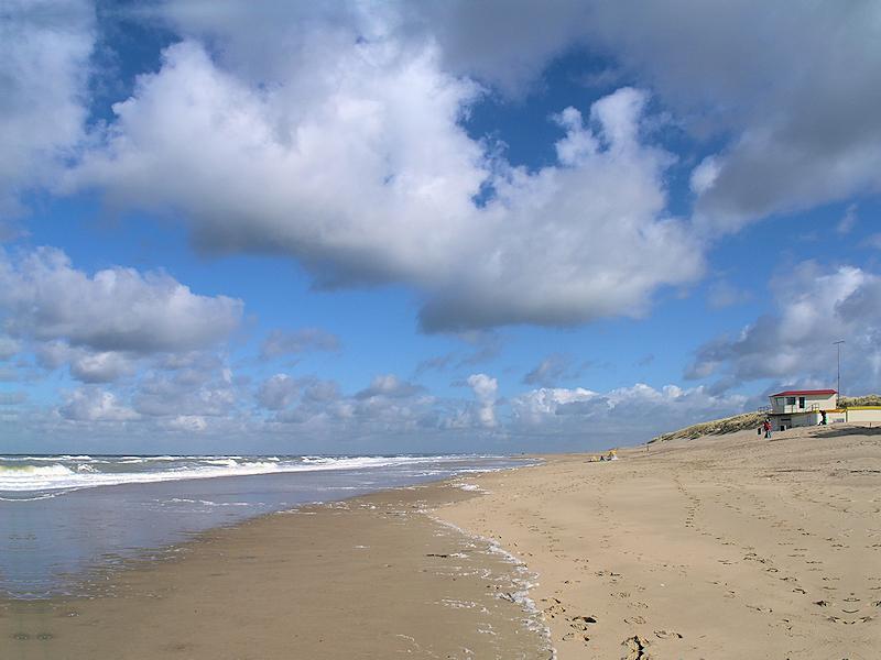 Niederlande Nordseestrand