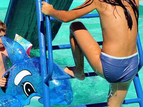 Kinder - Schwimmbad
