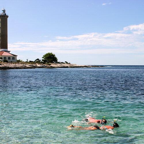 Kuriose Unterkünfte - Leuchtturm Kroatien