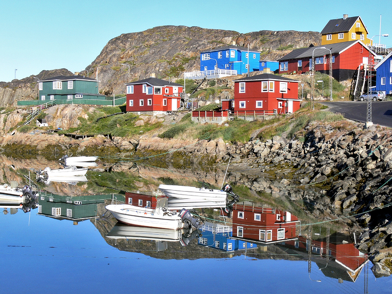 In der Diskobucht von Grönland