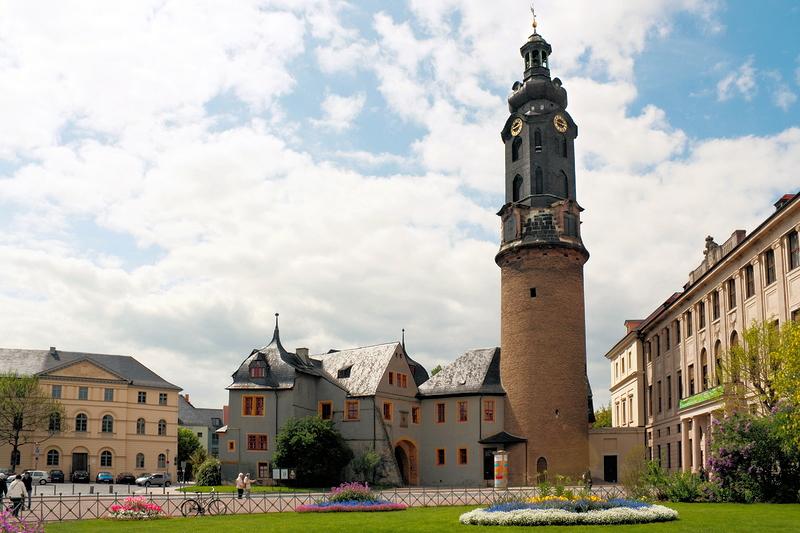 Thüringen - Stadtschloss Weimar