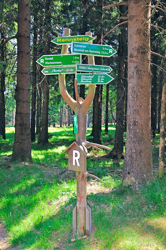 Thüringer Wald - Rennsteig