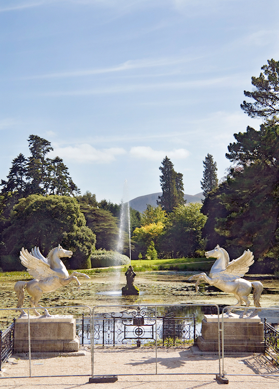 Irland - Powerscourt Gardens