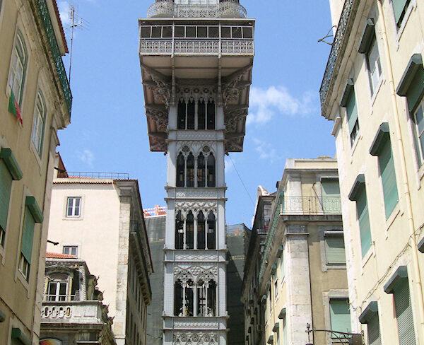Portugal – Lissabon – Elevador de Santa Justa