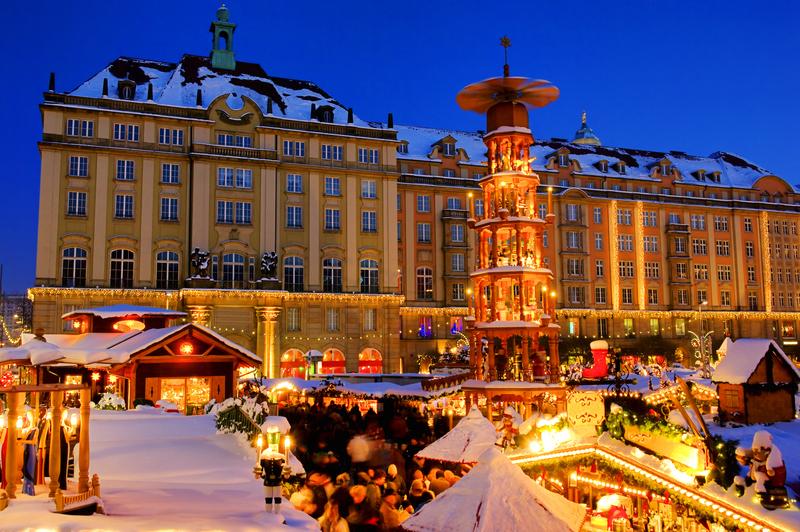 Sachsen - Dresden - Weihnachtsmarkt