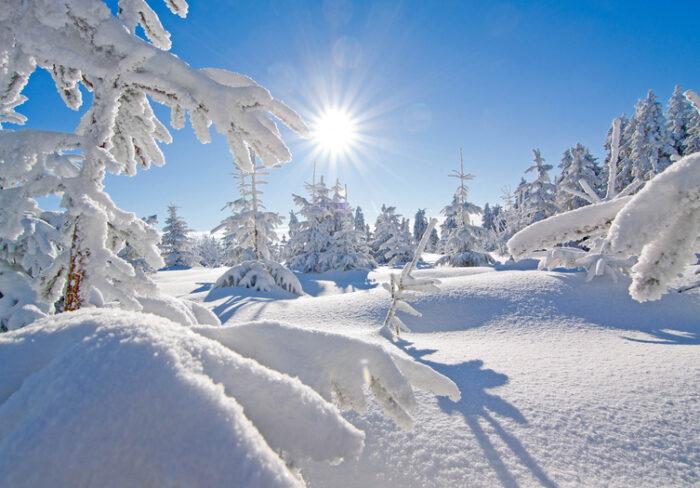 Sachsen - Fichtelberg - Winter