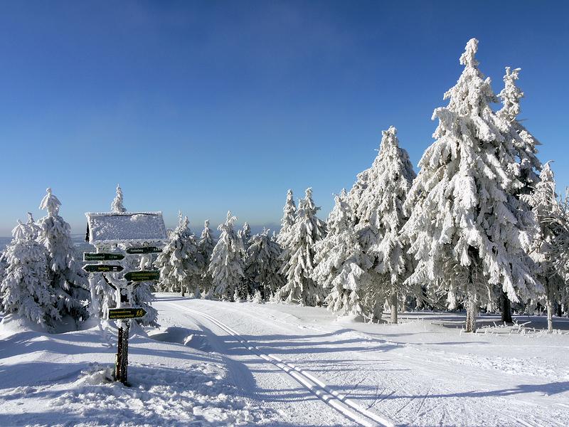 Sachsen - Oberwiesenthal - Winter