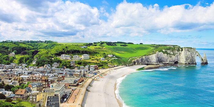 Normandie - Étretat - Küste