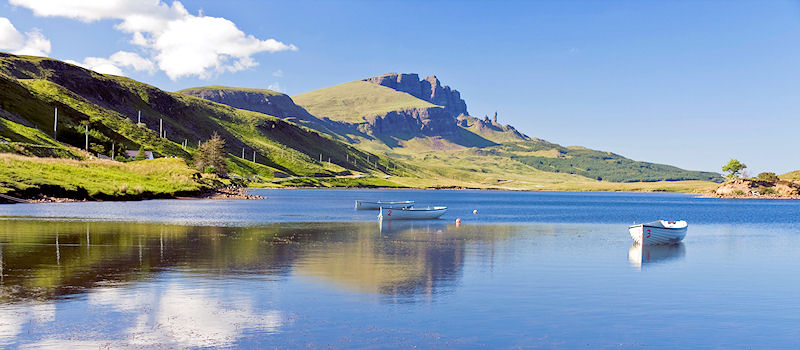 Schottland - Old Man of Storr on Skye in Scotland