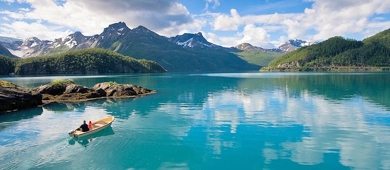 Urlaub in den Bergen - Norwegen