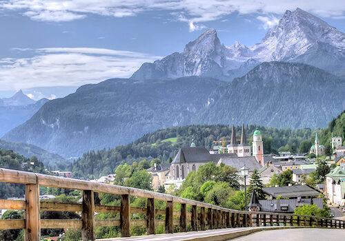 Urlaub in den Bergen - Deutschland - Berchtesgaden - Watzmann