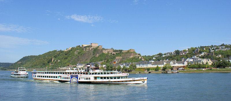 Koblenz - Ausflugsfahrten auf Rhein und Mosel