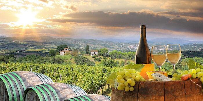 Weinanbaugebiete - Italien Toskana