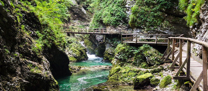 Slowenien - Fluss Radnova