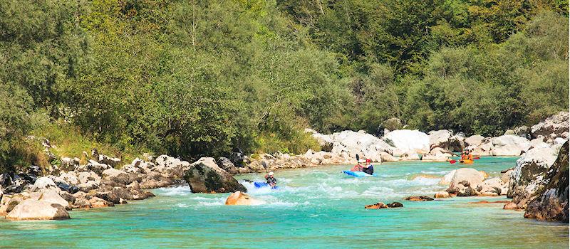 Slowenien - Fluss Soca