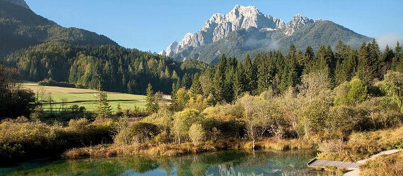 Urlaubsland Slowenien - Triglav Nationalpark