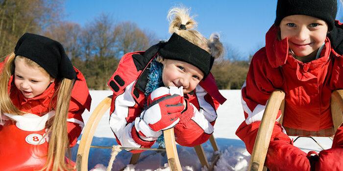 Wintersport im Harz - Rodeln