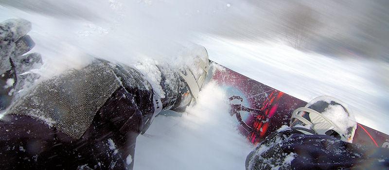Wintersport im Harz - Snowboard