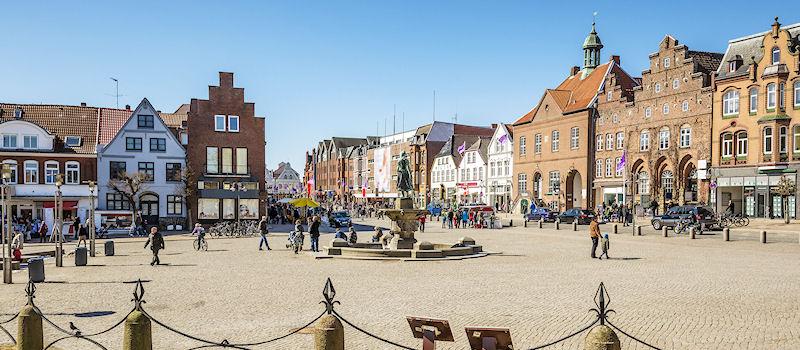 Husum - Marktplatz