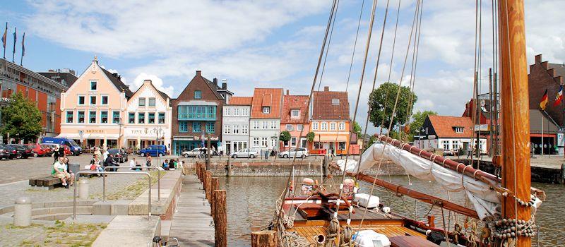 Krokusblütenfest Husum - Hafen