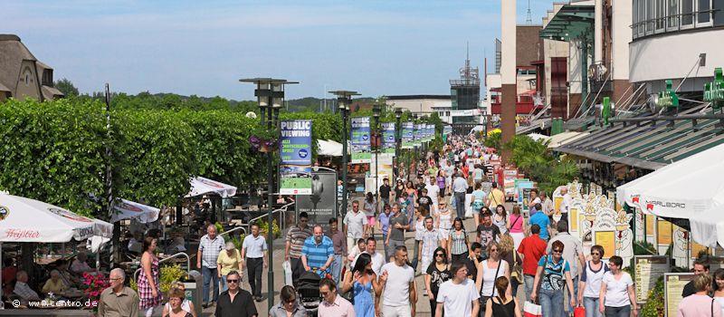 Neue Mitte Oberhausen - CentrO Promenade