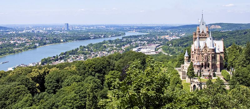 Rhein-Main-Gebiet - Mittelrhein - Siebengebirge