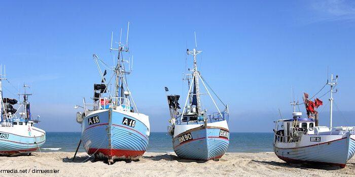 Norddänemark - Fischkutter