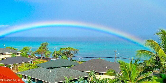 Hawaii - Regenbogen, Lahaina, Maui