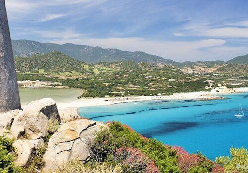 Die Mittelmeerinsel Sardinien