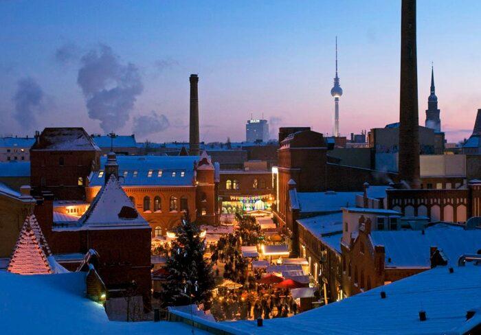 Lucia Weihnachtsmarkt in Berlin