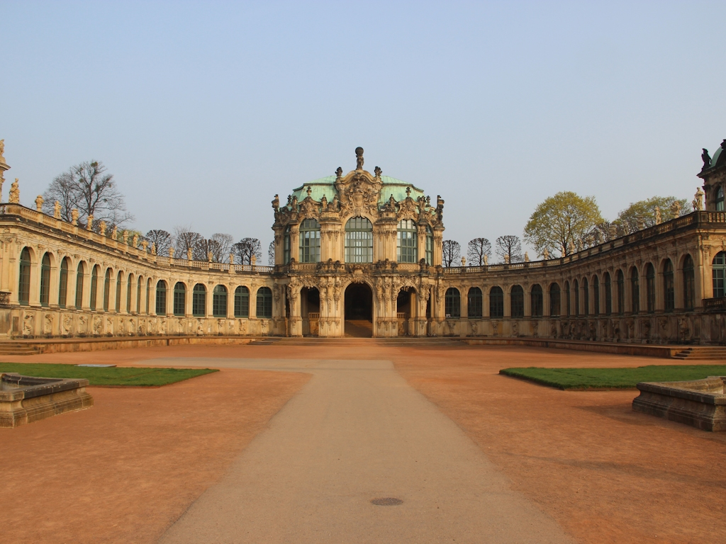 Städtetrip Dresden - Zwinger in Dresden