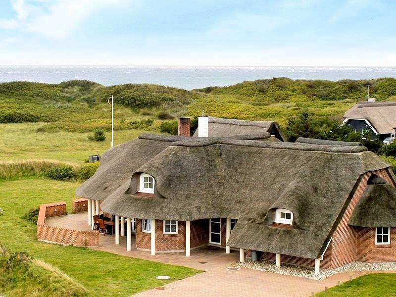 Das westlichste Ferienhaus an der dänischen Nordseeküste