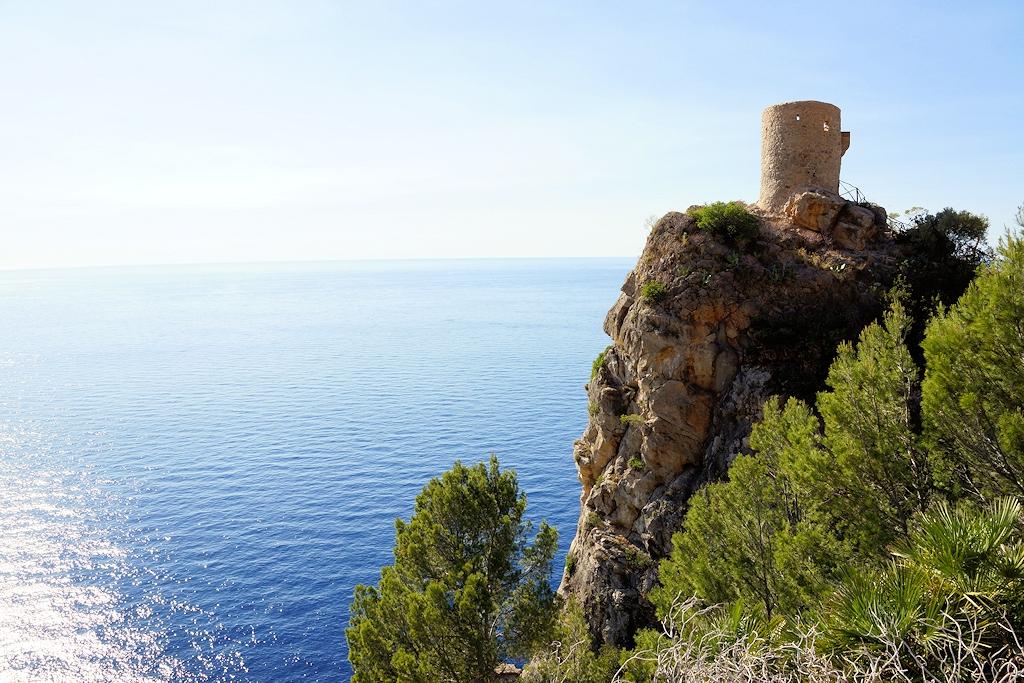 Banyalbufar -Der alte Wachturm Torre des Verger