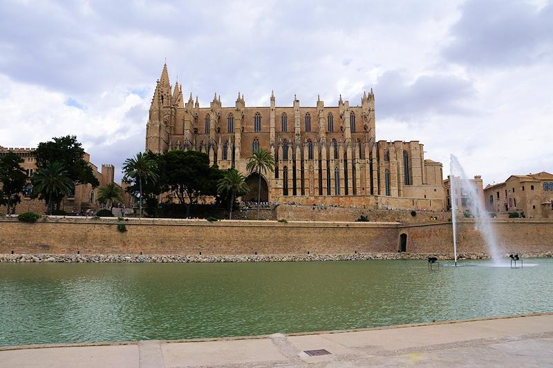 Die Kathedrale La Seu in Palma