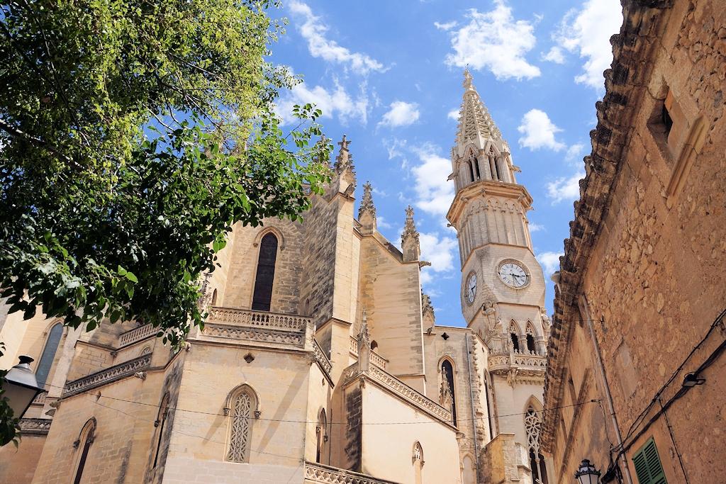 Pfarrkirche 'Dolores de Nostra Senyora' in Manacor