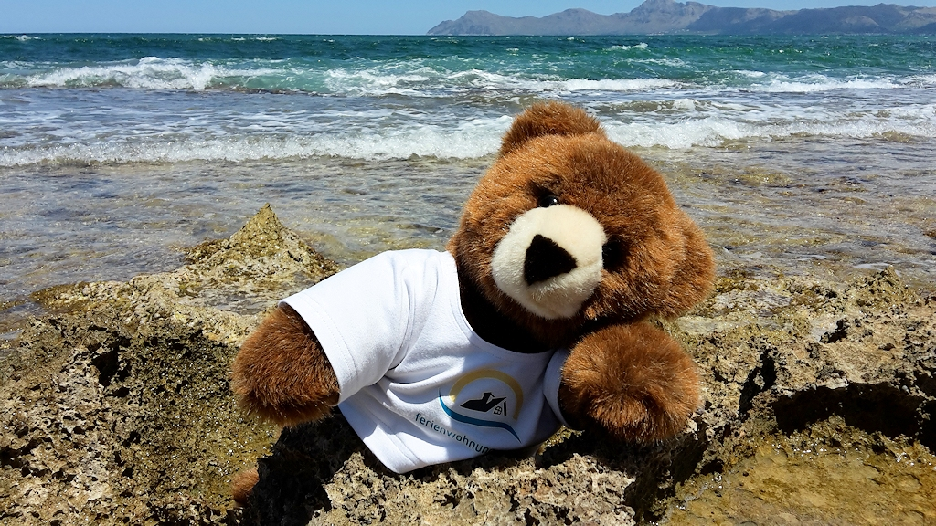 Tipps vom Urlaubär auf Mallorca - Badespaß in Ca'n Picafort