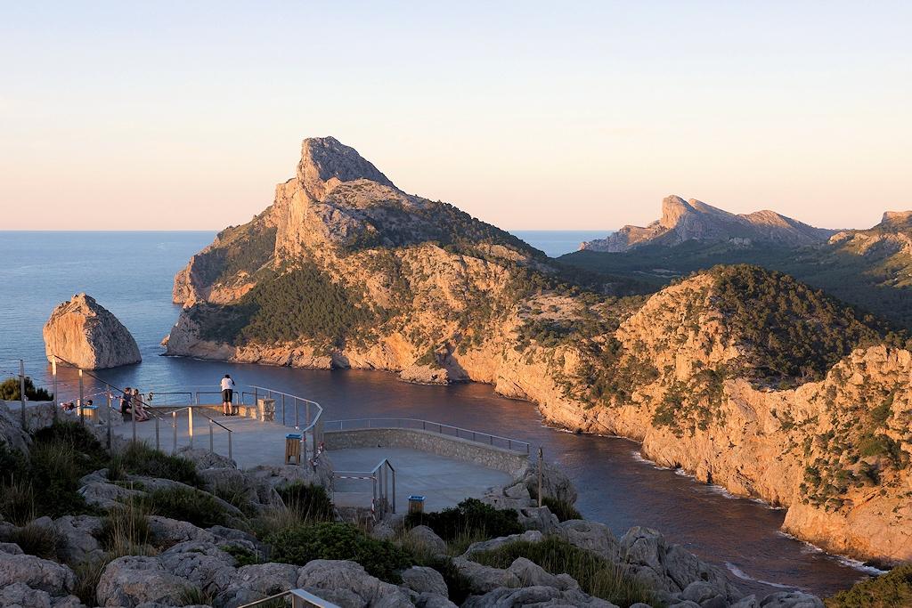 Aufstieg zum Cap Formentor