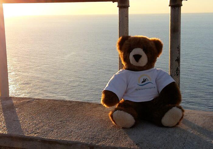 Der Urlaubär am Cap Formentor