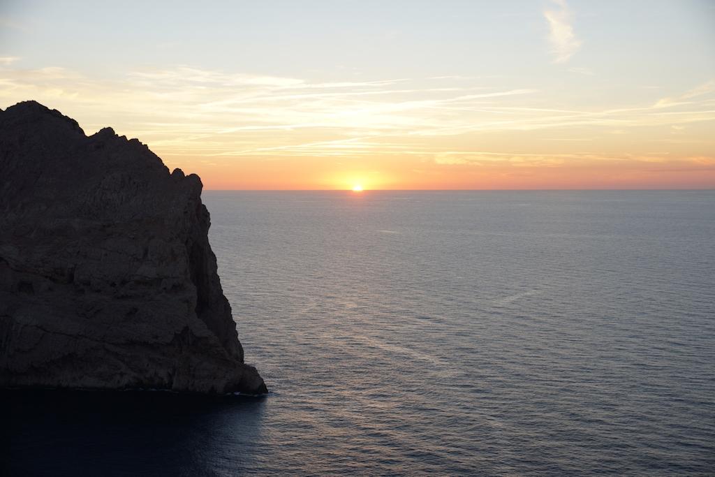 Sonnenuntergang am Cap Formentor