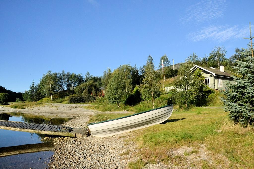 Norwegen entdecken mit dem Urlaubär - Unser Ferienhaus am See