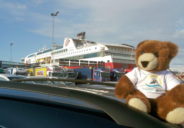 Der Urlaubär ist bereit: Fjord Line Fähre Hirtshals – Stavanger