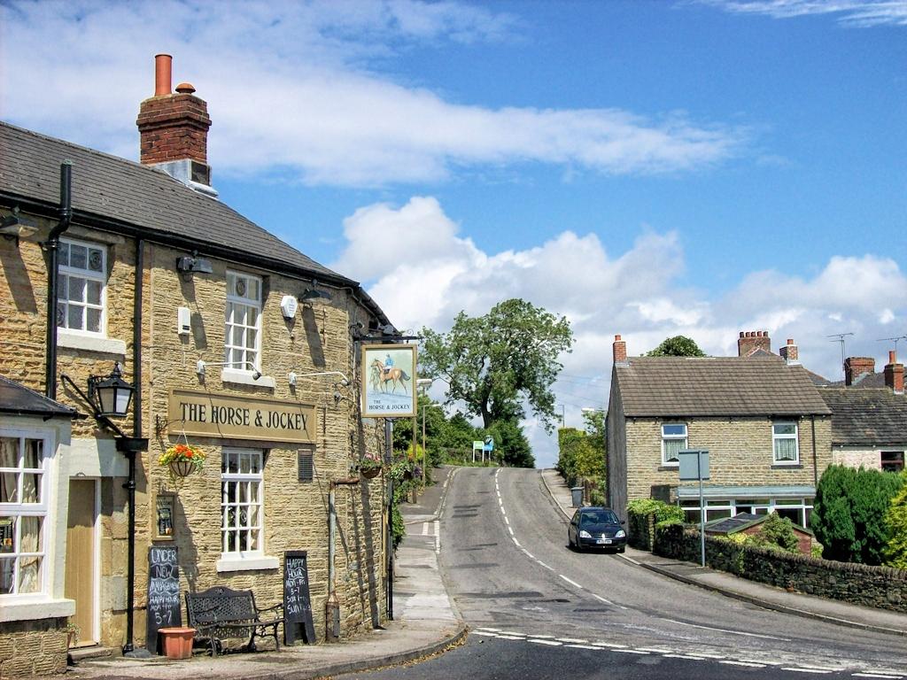 Ein kleiner Pub in England
