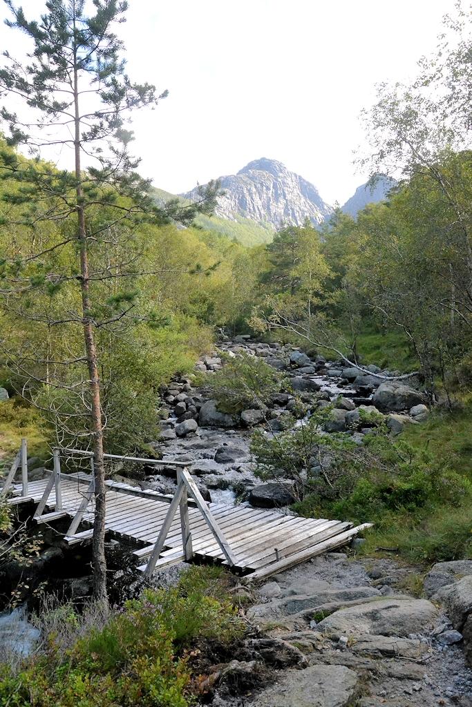 Kleine Brücke auf unserer nächsten Tour