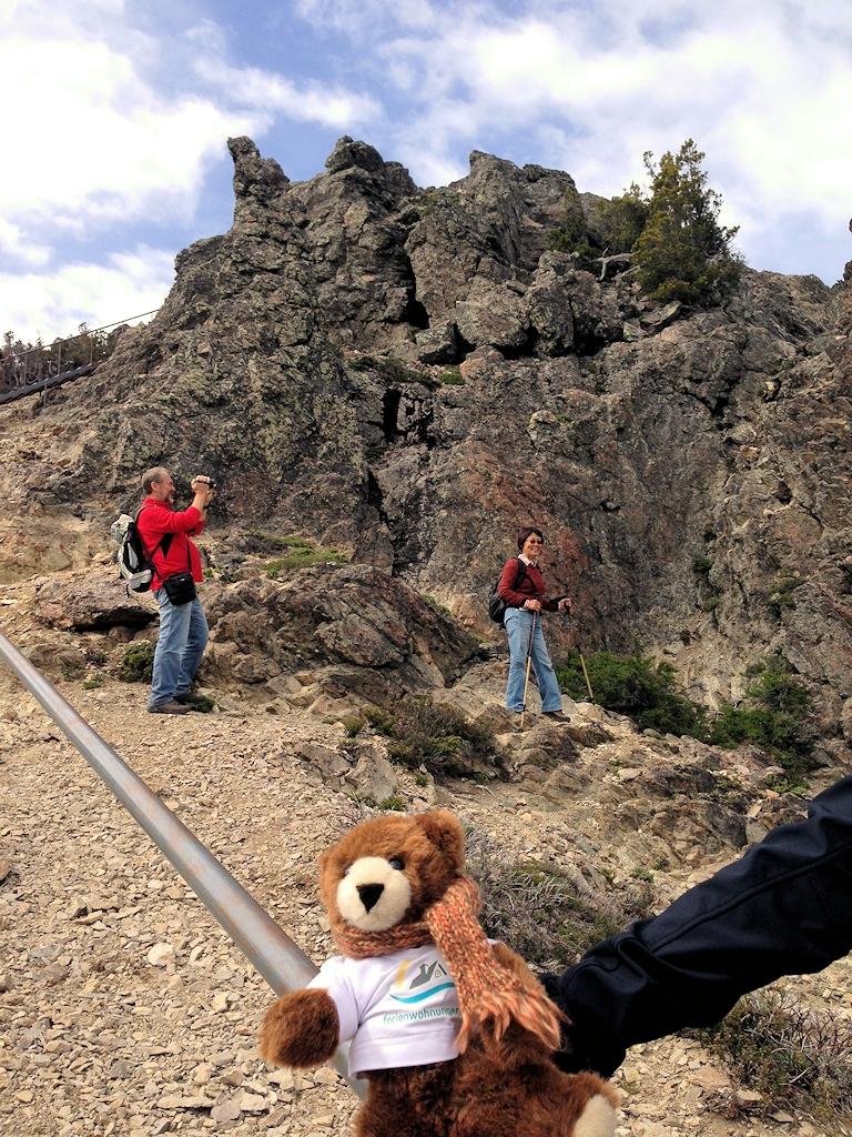 Tour auf den Berg Otto