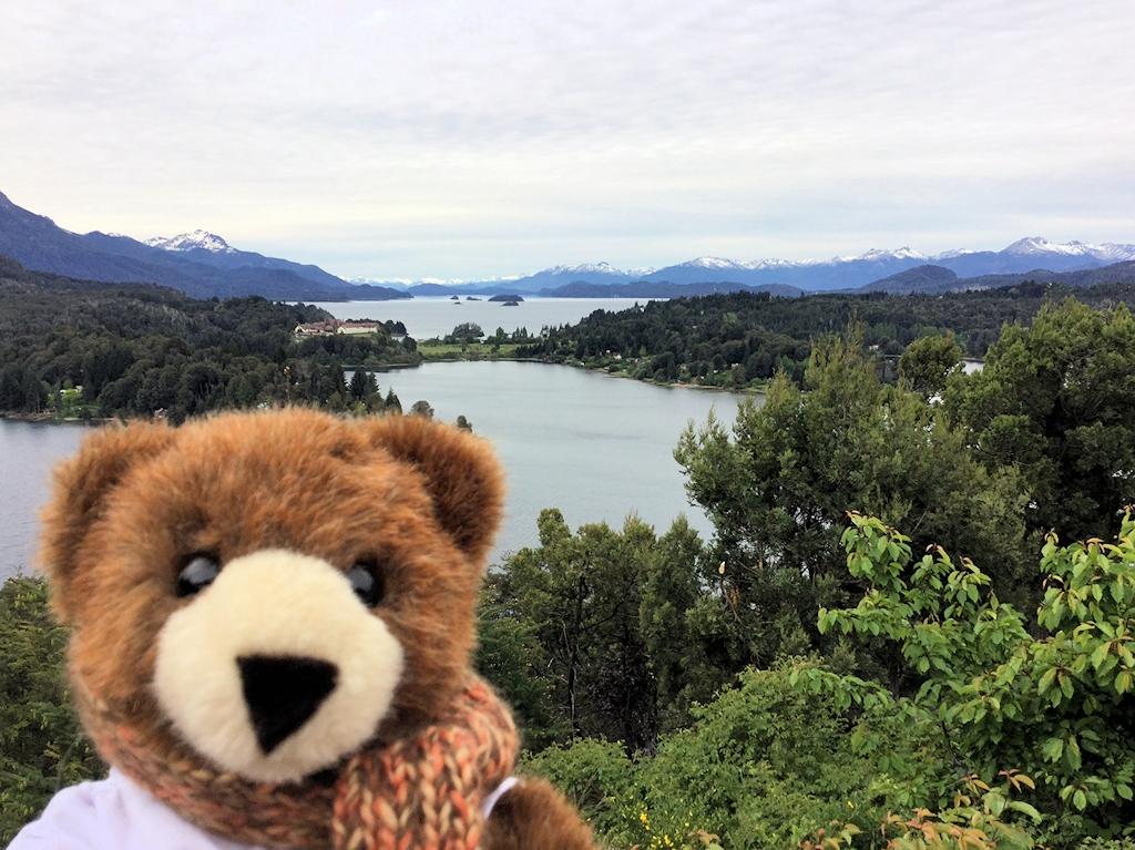 Blick auf den See Nahuel Huapi