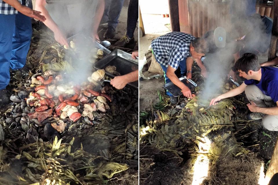 Curanto - Ein ursprüngliches chilenisches Kochritual