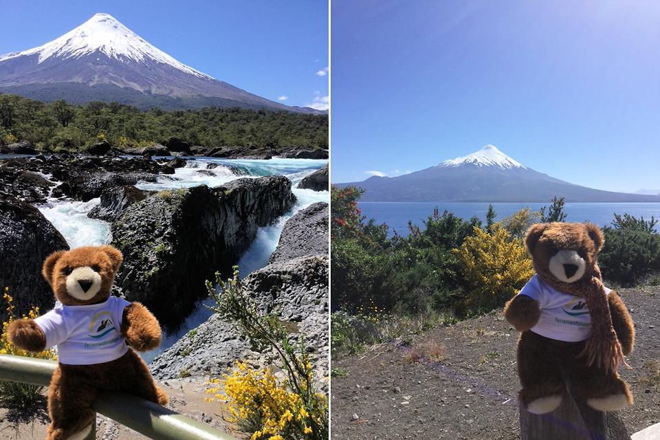 Wandern um den Vulkan Osorno