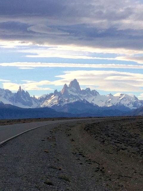 Berggruppe der Cordillera del Paine
