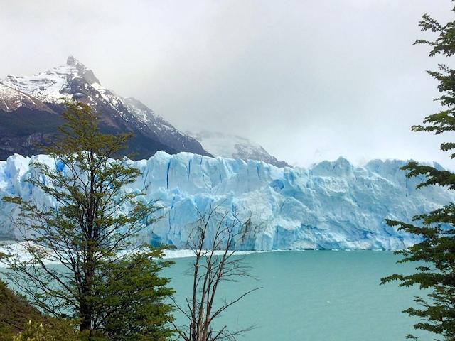 Die Abbruchkante des Perito-Moreno-Gletschers